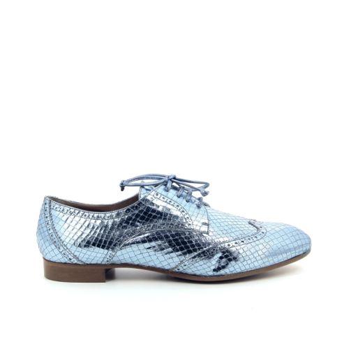 Lorenzo masiero damesschoenen veterschoen blauw 173468