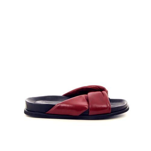 Lorenzo masiero damesschoenen muiltje rood 183228