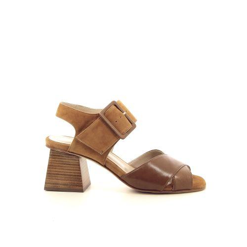 Lorenzo masiero damesschoenen sandaal cognac 195830