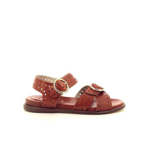 Lorenzo masiero damesschoenen sandaal cognac 195822