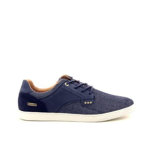 Pantofola d'oro  veterschoen jeansblauw 182996