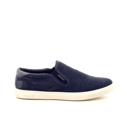 Pantofola d'oro  veterschoen jeansblauw 193309