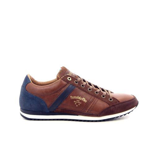 Pantofola d'oro  veterschoen cognac 182979