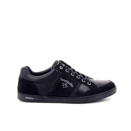 Pantofola d'oro herenschoenen veterschoen zwart 169383
