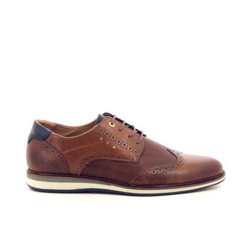 Pantofola d'oro  veterschoen cognac 193310
