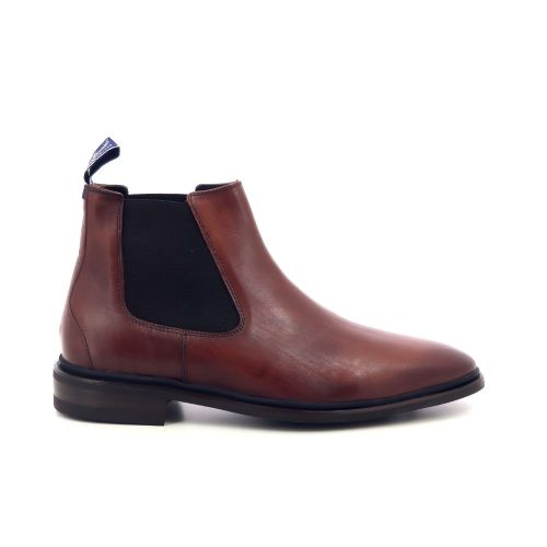 Floris van bommel  boots cognac 198817