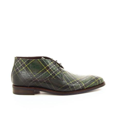Floris van bommel herenschoenen boots groen 19286