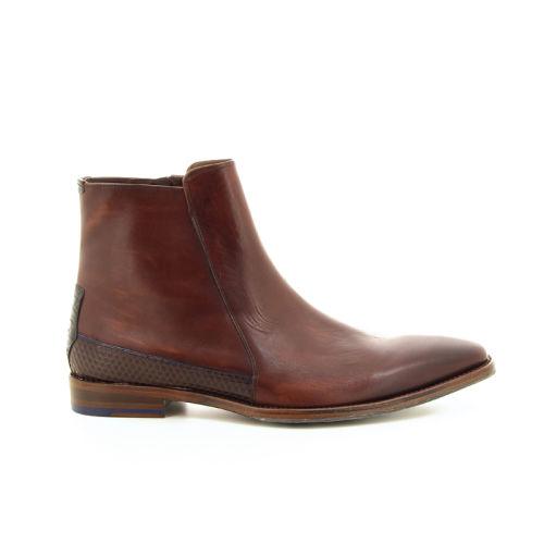 Floris van bommel herenschoenen boots bruin 19283