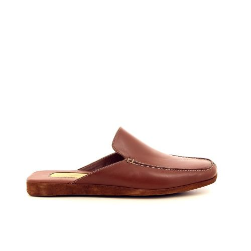 Farfalla herenschoenen pantoffel bruin 191323