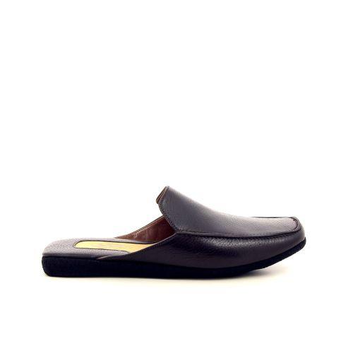 Farfalla herenschoenen pantoffel d.bruin 191325