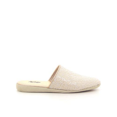 Farfalla damesschoenen pantoffel beige 185711