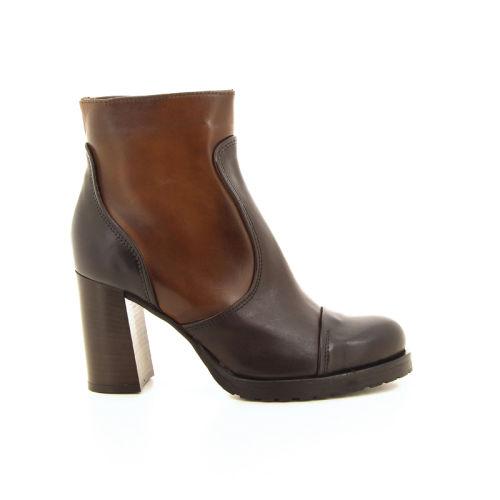 Progetto damesschoenen boots cognac 17894