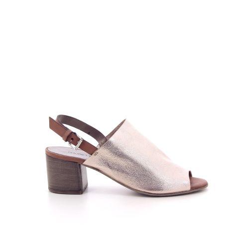 Progetto damesschoenen sandaal licht brons 195296