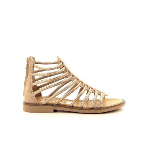 Momino  sandaal platino 192829