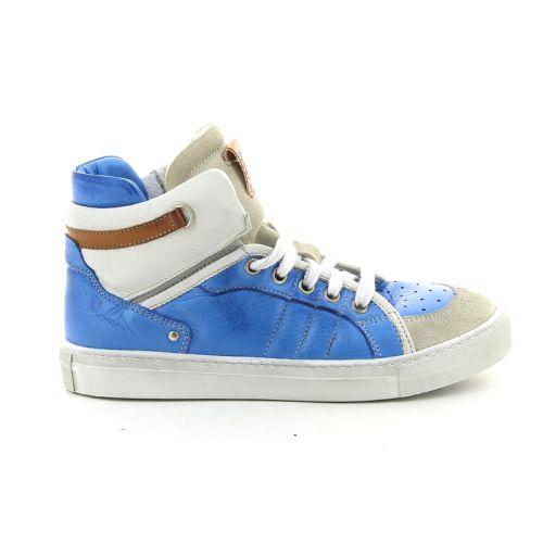 Momino solden boots hemelsblauw 87555