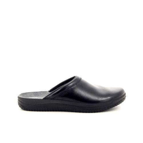 Rohde  pantoffel zwart 188428
