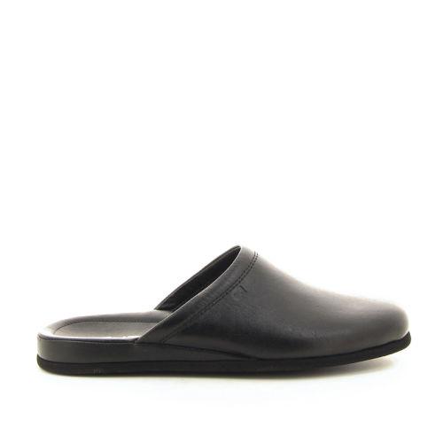 Rohde  pantoffel zwart 194059