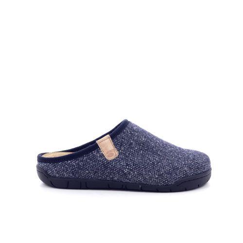 Rohde damesschoenen pantoffel blauwgrijs 200499