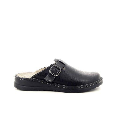 Rohde  pantoffel zwart 188433