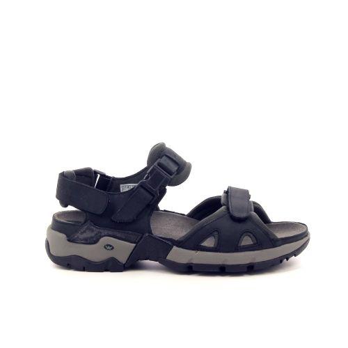 Mephisto herenschoenen sandaal zwart 194103