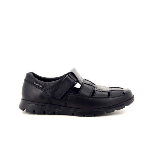 Mephisto herenschoenen sandaal zwart 194101