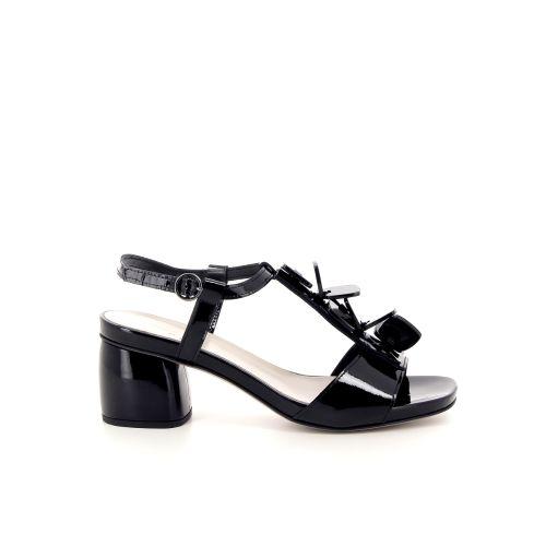 Jeannot damesschoenen sandaal zwart 184119