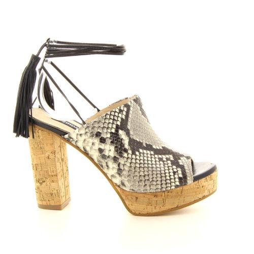 Zinda damesschoenen sandaal taupe 13422