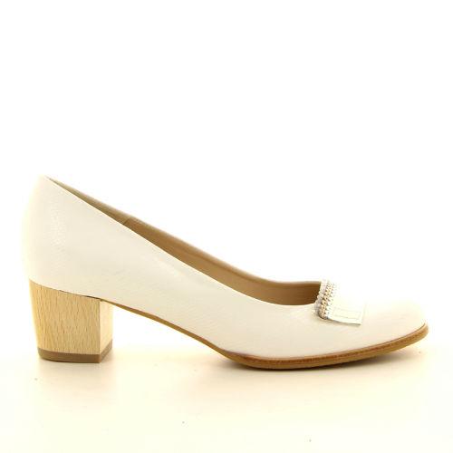 Zinda damesschoenen pump wit 13395