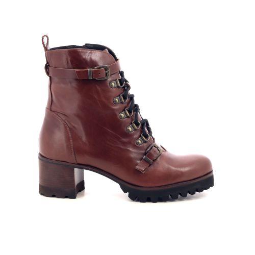Zinda damesschoenen boots cognac 200462