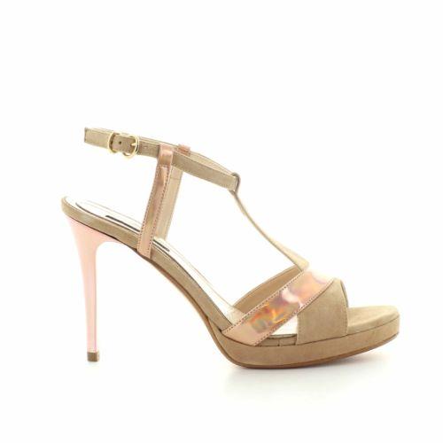 Silvana damesschoenen sandaal poederrose 89107