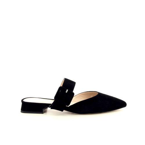 Silvana damesschoenen sleffer zwart 195111
