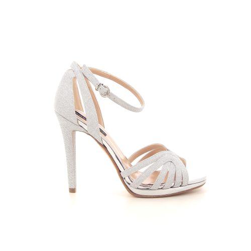 Silvana damesschoenen sandaal zilver 184450