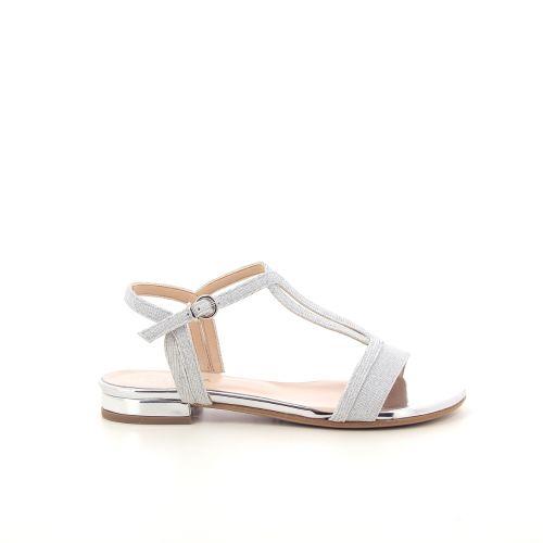 Silvana damesschoenen sandaal zilver 195124