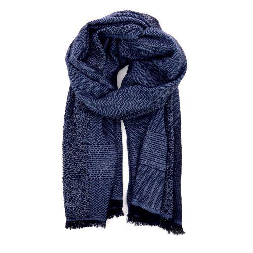 Accento accessoires sjaals blauw 191279