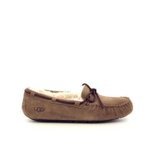 Ugg damesschoenen pantoffel cognac 17252