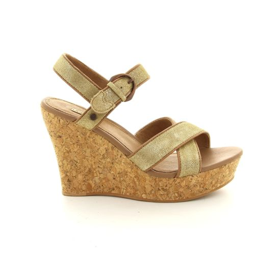 Ugg solden sandaal goud 86210
