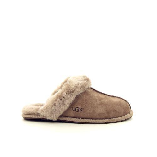 Ugg damesschoenen pantoffel taupe 187843