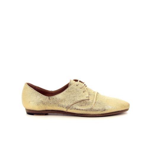 Pantanetti damesschoenen veterschoen goud 184879