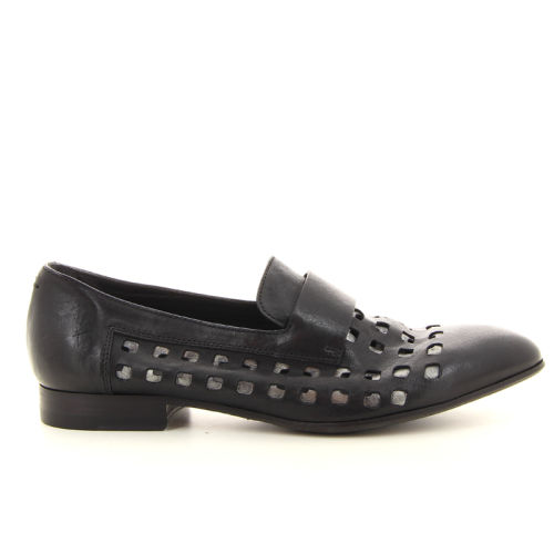 Pantanetti damesschoenen mocassin zwart 13799