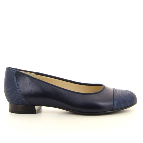 Hassia damesschoenen ballerina blauw 13420