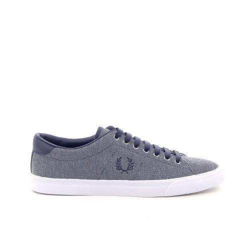 Fred perry  sneaker grijsblauw 181838