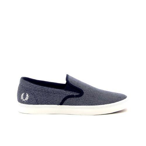 Fred perry solden sneaker blauw 181834