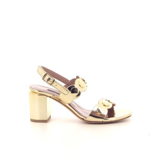 Albano damesschoenen sandaal goud 184624
