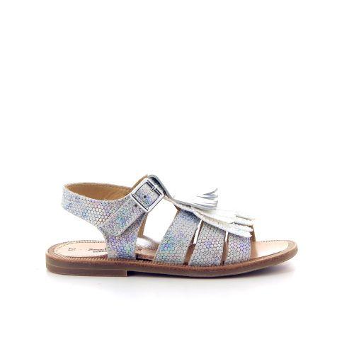 Zecchino d'oro solden sandaal zilver 183792