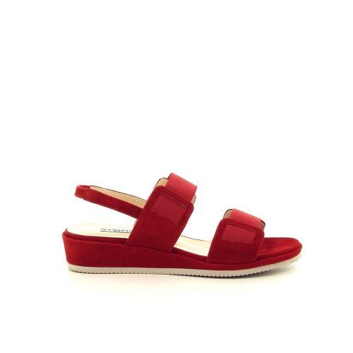 Cervone damesschoenen sandaal rood 193618