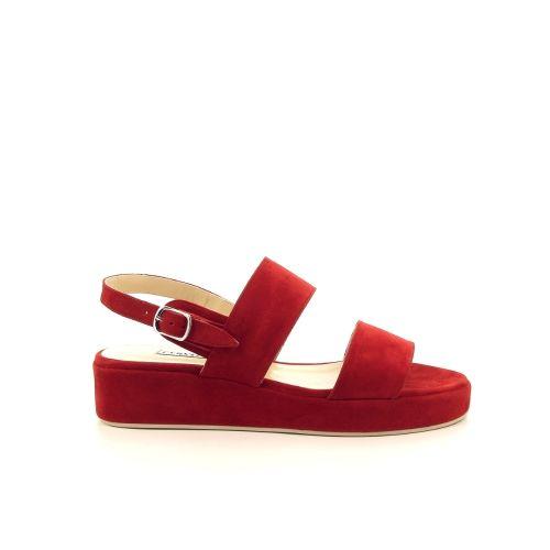 Cervone damesschoenen sandaal rood 193622