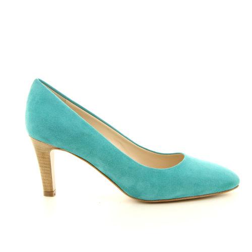 Moonflower damesschoenen pump blauw 13223