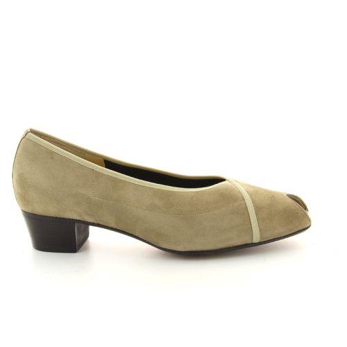 Peron damesschoenen sandaal camelbeige 90754
