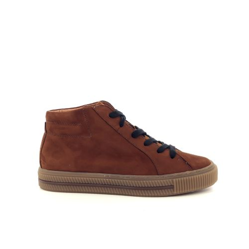 Paul green  sneaker cognac 200443