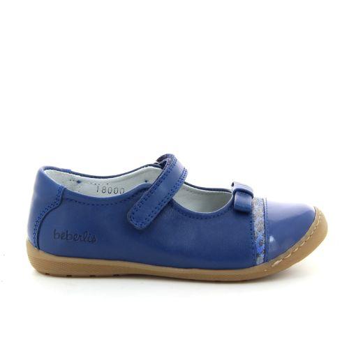 Beberlis kinderschoenen ballerina blauw 88221